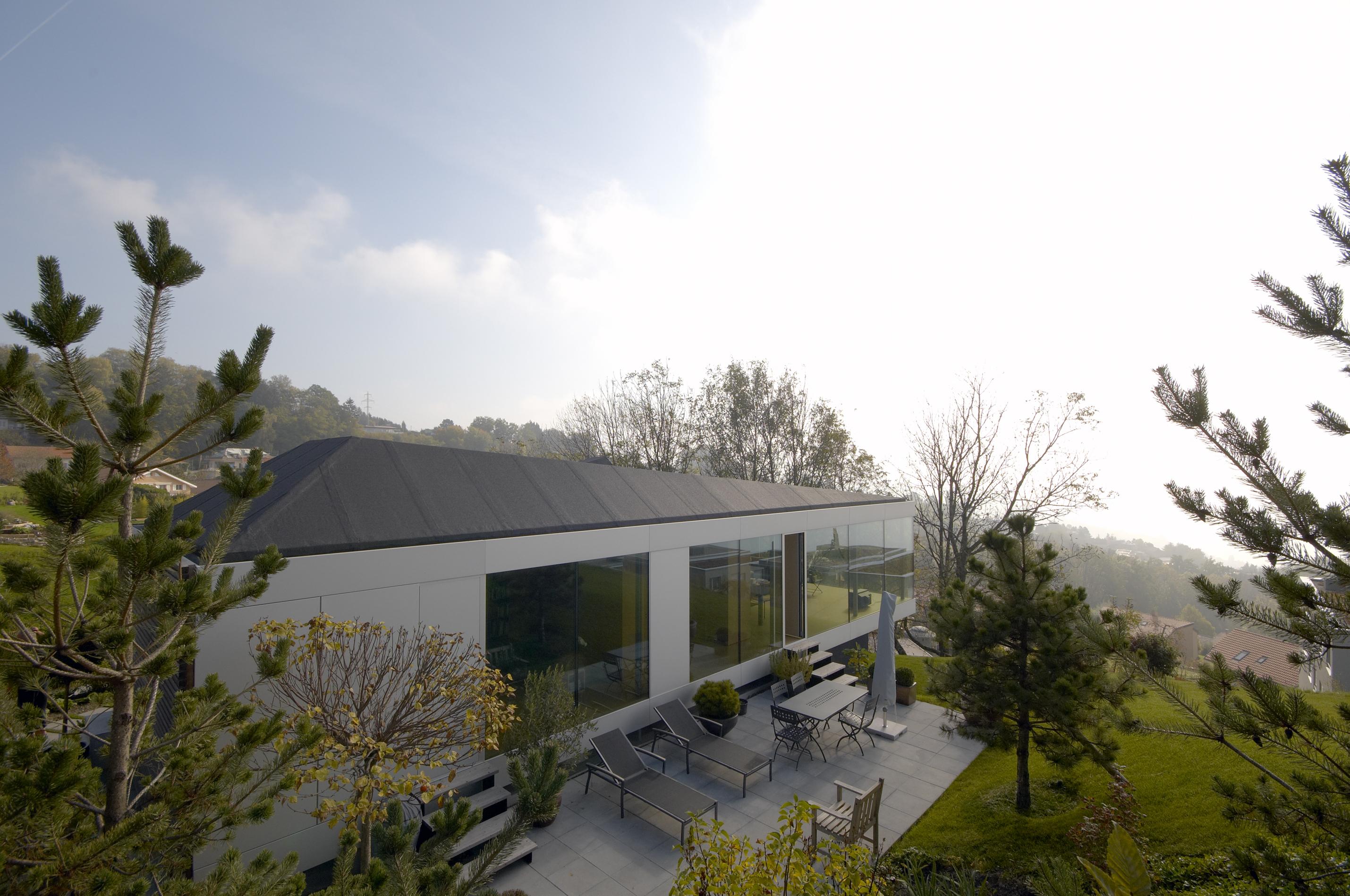 U15 architectes eligio novello sia section vaud for Habitation individuelle